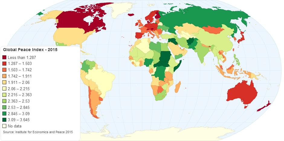 Global Peace Index - 2015
