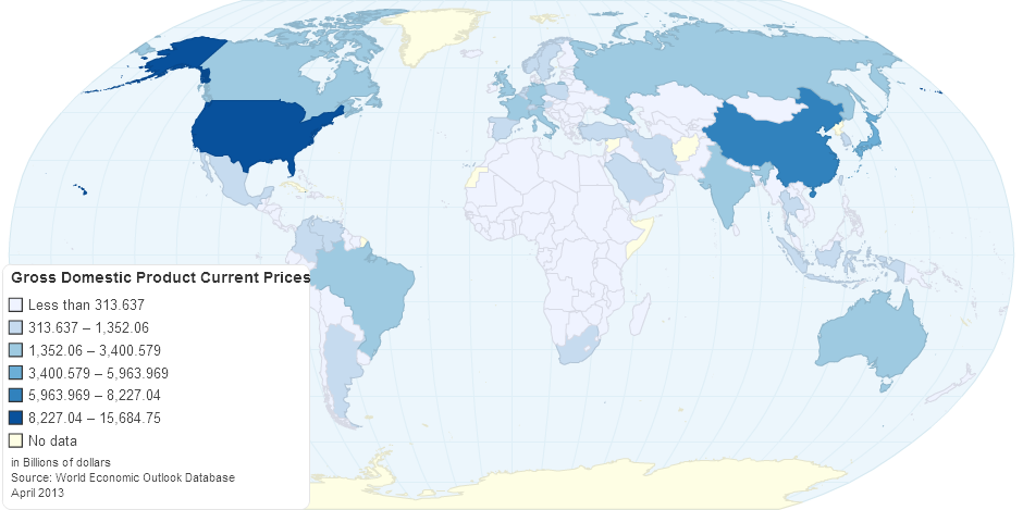 Gross Domestic Product Current Prices