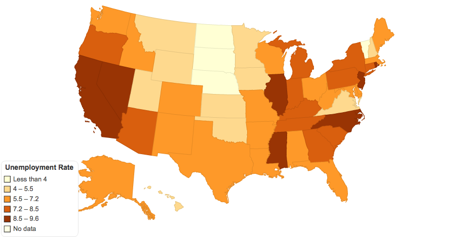 Unemployment Rate 2013