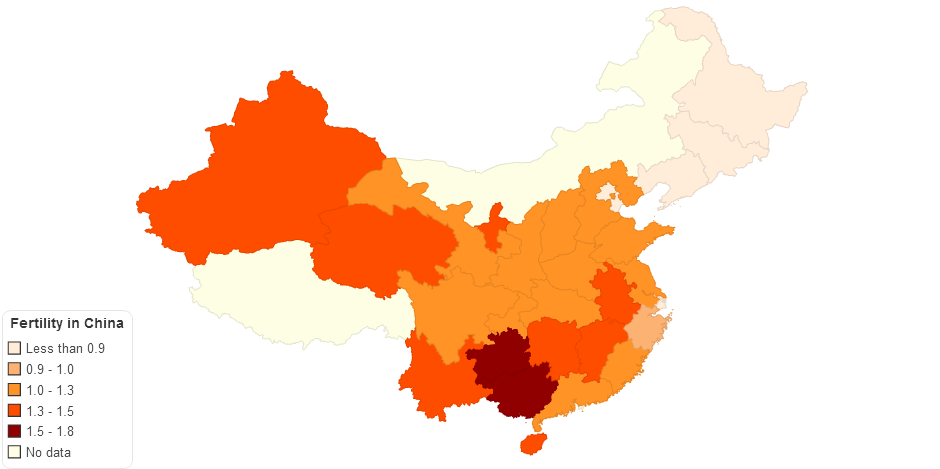 Fertility in China