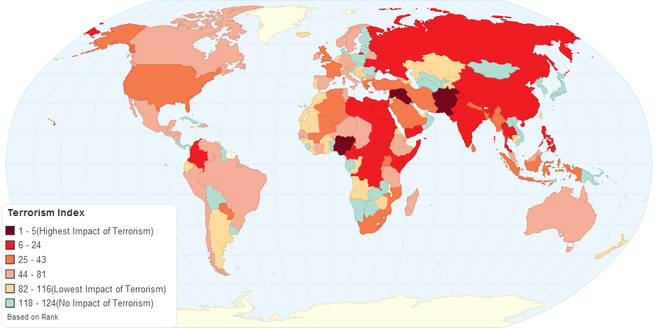 Global Terrorism Index(GTI) 2015