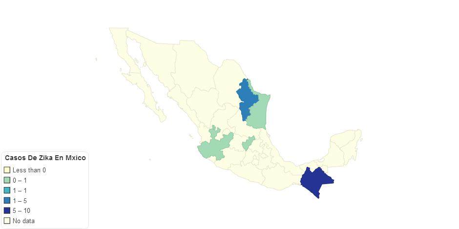 Casos De Zika En Mxico