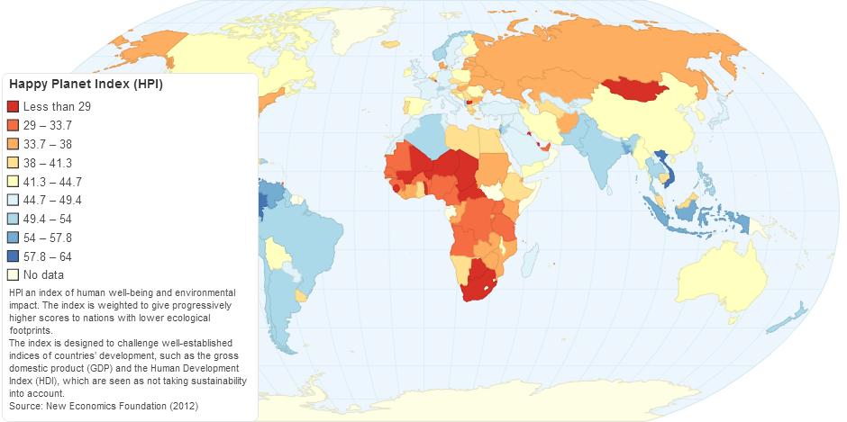 Happy Planet Index (HPI)