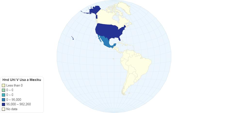 Hnědé uhlí v USA a Mexiku