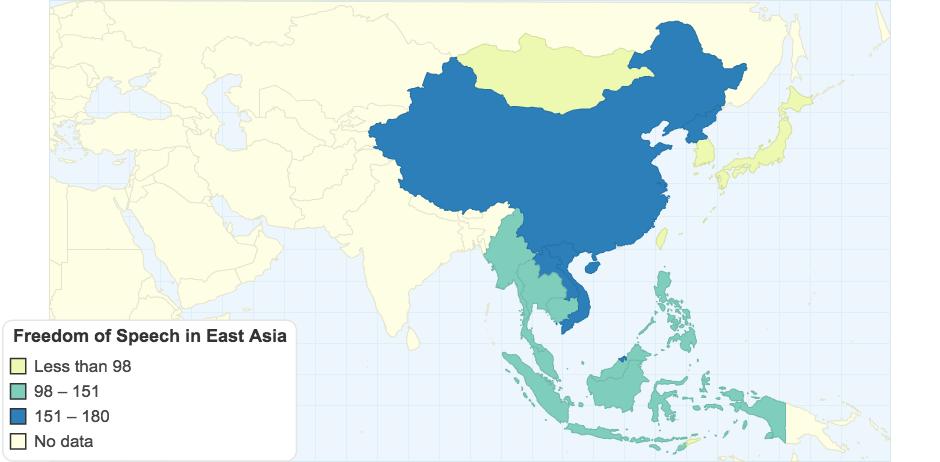 Freedom of Speech in East Asia