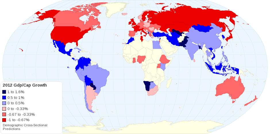 2012 Gdp per Capita Growth Predictions