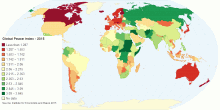 Global Peace Index - 2012