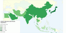EFORT CRM 2015 Asia-Pacific Repartition