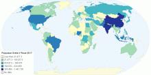 Populace Sveta V Roce 2017